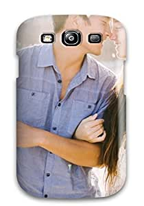 New Arrival Lovely Couple Watching Each Other Eyes Happily CmQFWDg7020QWNBS Case Cover/ S3 Galaxy Case