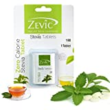 Zevic Stevia Sugar Free - 100 Tablets