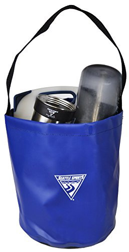 (Seattle Sports Outfitter Class Camp Bucket - Lightweight, Packable Bucket for Hauling Water and Doing Dishes )