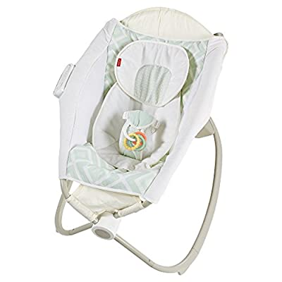 Fisher-Price Deluxe Newborn Auto Rock n Play Sleeper with Smart Connect