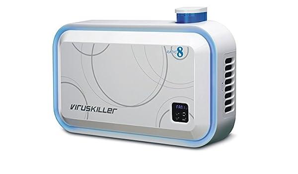 Radic8 VK-Blue purificador de aire y esterilizador, color blanco: Amazon.es: Industria, empresas y ciencia