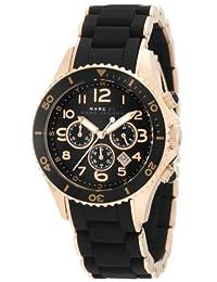 Marc by Marc Women's Pelly MBM2553 Black Silicone Quartz Watch