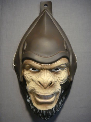 Planet of the Apes General Thade PVC Mask Kid Size Rubies Halloween Dress (Planet Of The Apes Costume Halloween)