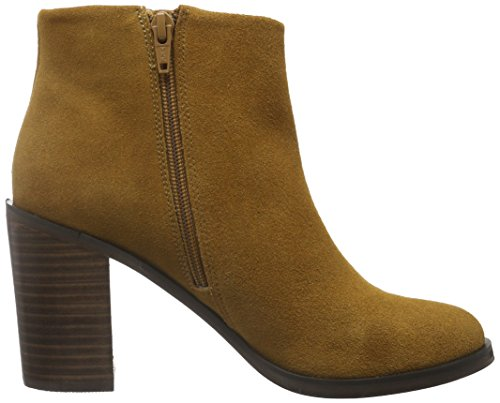 Boots Ankle Brown Buffalo 01 4 14b57 Cognac Suede Women's Cow BxYnSHaqFw