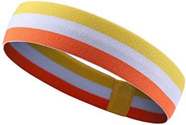 スポーツヨガランニングベルト通気性速乾性フィットネスヨガ発汗抑制スウェットガイドヘッドバンド (Color : 4)