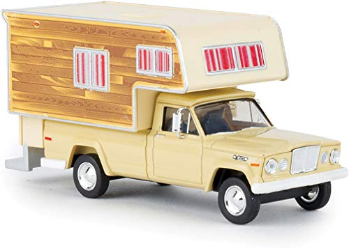 1962 Jeep Gladiator Pickup Truck with Camper Body - Assembled 1/87
