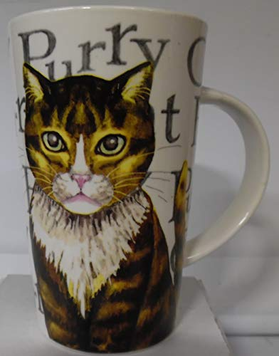 Kent Pottery CATS Coffee Mug 12 oz Like New