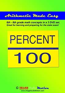 Amazon.com: Arithmetic Made Easy for learning 6th - 8th