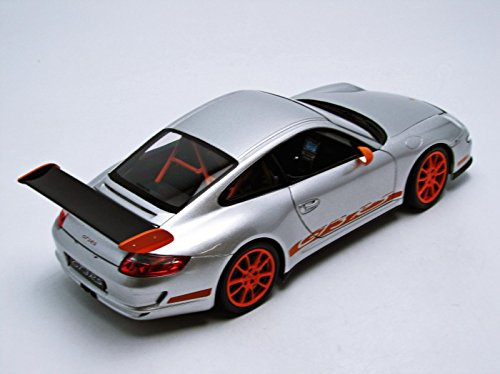 Welly Porsche Rs 911/997 Gt3, escala 1/18, color blanco (18015): Amazon.es: Juguetes y juegos