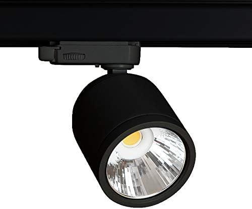 WITTKOWARE - Pack de 10 focos LED de 3 fases, 15 W, 2700 K, 1200 ...