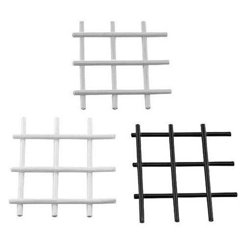 80/20 48x96 Pvc Coated Wire Mesh Panel 12 Ga, Black