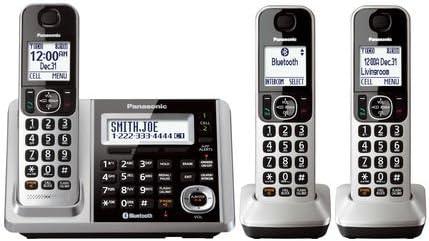 Panasonic KX-TGF374S DECT 4-Handset Landline Telephone
