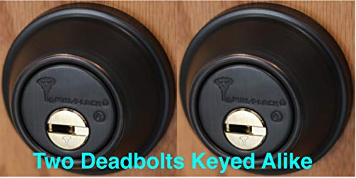 Mul-T-Lock Single Cylinder Deadbolt With S  Parker Knob