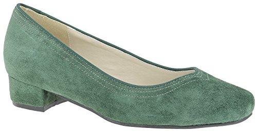 Sapatos Bailarina Do Traje Veado Tannengrün Couro Kogel
