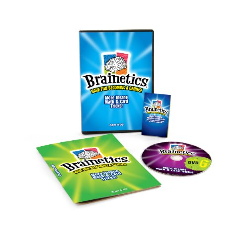 Brainetics - Insane Math & Card Tricks! - BONUS DVD (Card Finder Magic Trick)