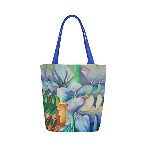 Fine Art Tote Bag - Floral Tote, Flowers by Kathy Fallon Art