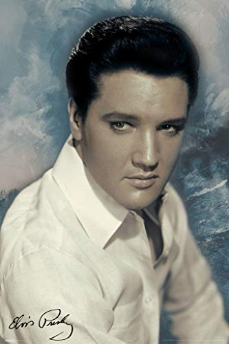 Pyramid America Elvis Presley Classic Cool Music Cool Wall Decor Art Print Poster 24x36