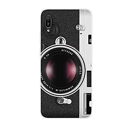 Aksuo for Huawei Y6 Pro 2019 Case,Women Girls boy Men Printed Transparent Clear Design Plastic Case with TPU Bumper Protective Cover,A lot of Delicious Poached Eggs