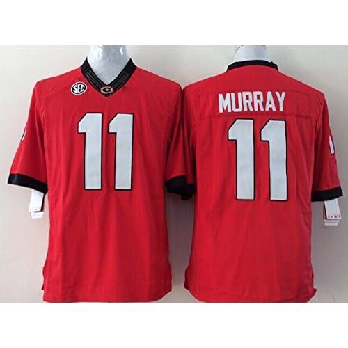 separation shoes 99852 de252 EVEBEST Men's Georgia Bulldogs Football Shirt NO.11 Nurray ...