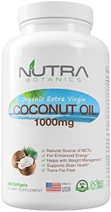 Nutra Botanics Coconut Capsules Softgels