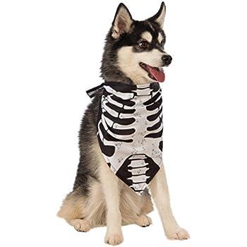 Rubie's Skeleton Bandana Dog Costume