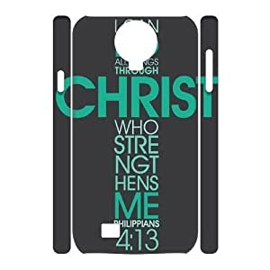 Bible Verse Brand New 3D Cover Case for SamSung Galaxy S4 I9500,diy case cover ygtg620892