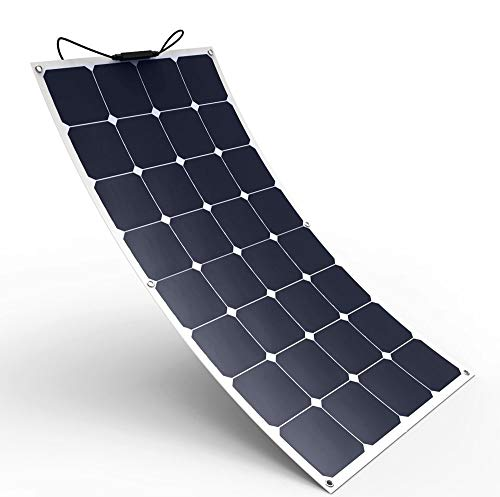 Solar Cynergy 120watt 12volt Monocrystalline Flexible-Bendable Solar Panel