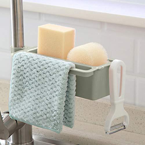 OrchidAmor Household Faucet Clip Drain Rack Kitchen Sink Rag Bath Holder Soap Storage Box 2019 New Fashion