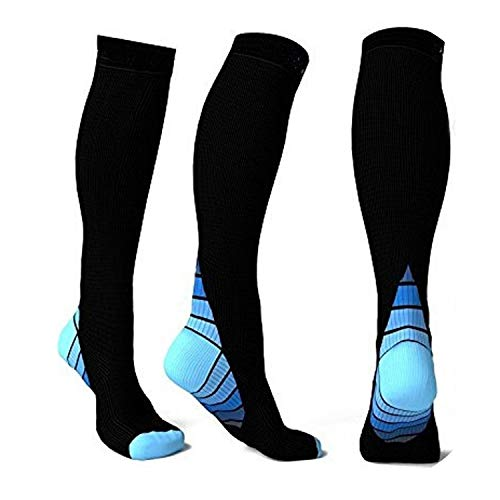 Compression Socks Fit long Socks Boost socks super three color,1,United States,XL]()