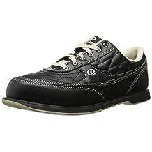 Dexter Turbo II Wide Width Bowling Shoes, Black/Khaki