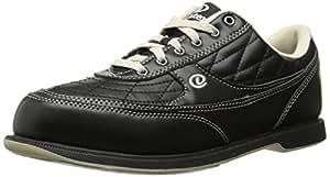 Dexter Turbo II Wide Width Bowling Shoes, Black/Khaki, 7