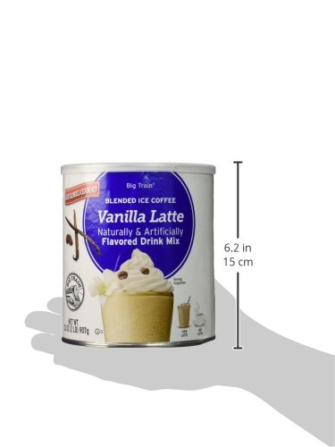 Amazon.com : Big Train Blended Ice Coffee, Dulce de Leche, 3.5 Pound, Powdered Instant Coffee Drink Mix, Serve Hot or Cold, Makes Blended Frappe Drinks ...