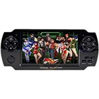 THEBOX PSP Handheld Gaming Console 8 GB with 10000 Games ,WiFi,FM,TF Memory Card and Camera 4.3 Inch Screen Full HD 1080p-Black