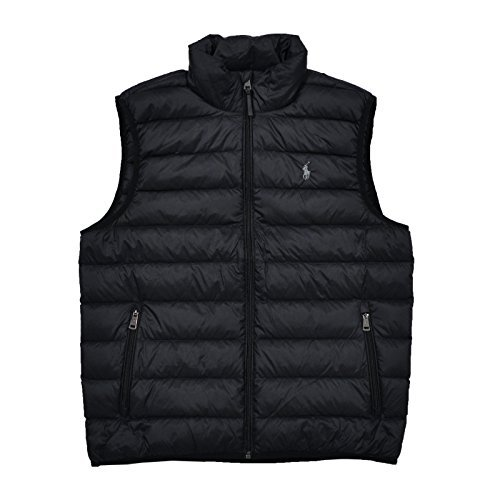 Ralph Lauren Down Puffer (Polo Ralph Lauren Mens Full Zip Puffer Vest (Medium, Polo Black))