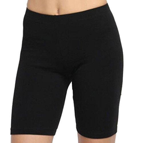 10cdb1de91 Oksale Women Solid High Elasticity Leggings Gym Active Pants Cycling Shorts