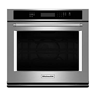 KitchenAid KOSE500ESS 30 Stainless Convection Single Wall Oven