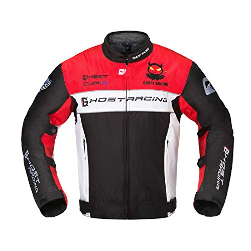 (LLC-CLAYMORE Motorcycle Jacket Full Season Warm Liner Motorcross Protective Gear Clothing Off-Road Moto Racing Coat for Men,M)
