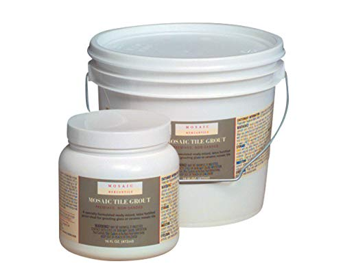 Mosaic Mercantile Premix Grout Gallon, Black