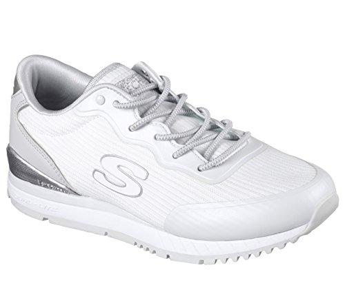 Skechers Sunlite Vega Womens Jogging Sneakers White 7.5