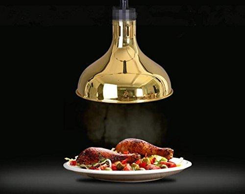 250w 290mm food warmer lamp Telescopic droplight Buffet Heating Lamps Heating Light (110V)