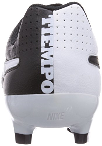Tiempo Ground Nike Black black Firm Men's Football Genio Leather white Boots OrIdw8Iq