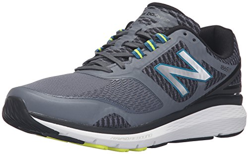 New Balance Men's 1865v1  Walking Shoe, Grey/Black, 9 D US