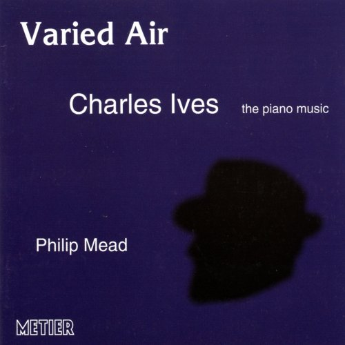 Price comparison product image Varied Air Charles Ives the piano music