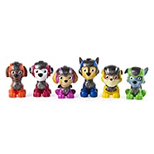 Paw Patrol Mission Paw - Mini Figures Gift Set - 6 Pack - Amazon Exclusive