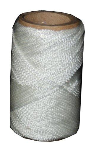 Braided Nylon Chalk Line - T.W . Evans Cordage 12-100 Number-1 Braided Nylon Mason Line, 100-Feet