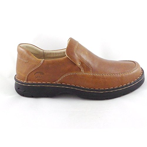 Softwalk Tan Leder Slip On Casual Schuh