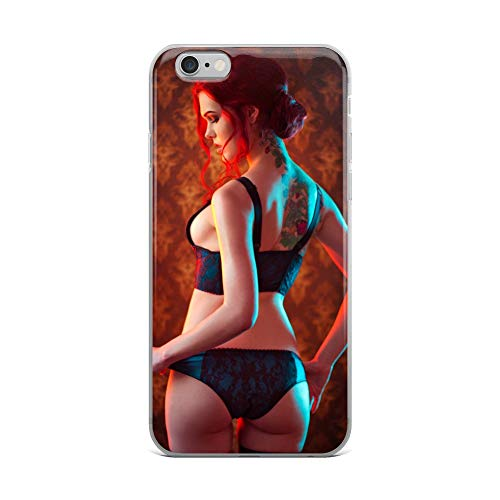 (iPhone 6 Plus/6s Plus Case Anti-Scratch Gamer Video Game Transparent Cases Cover Triss Merigold #3 Gaming Computer Crystal Clear)