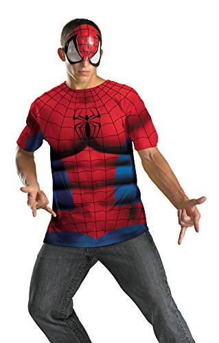 Spiderman Alt No Scars 42-46 Adult Mens Costume
