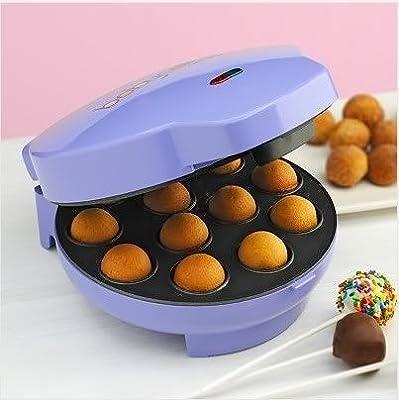 Partie Babycakes Cake Pops Maker With Bonus Free Filling Injector -CP-94LV-Purple donut. New In Stock