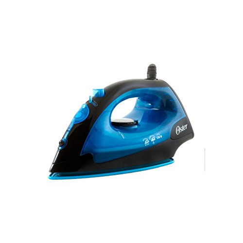 Oster GCSTBS4801L-053 Black/Blue 1200-Watt Variable Steam Iron, 220 Volts (Not for USA - European Cord)